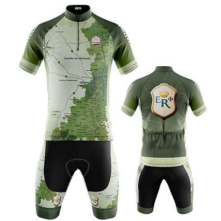 Conjunto Bermuda e Camisa Ciclismo Mountain Bike Estrada Real