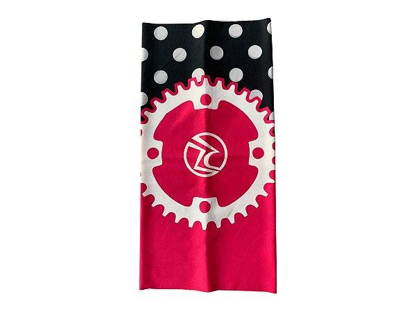 Bandana Ciclismo Unissex Risco Zero Coroa Rosa