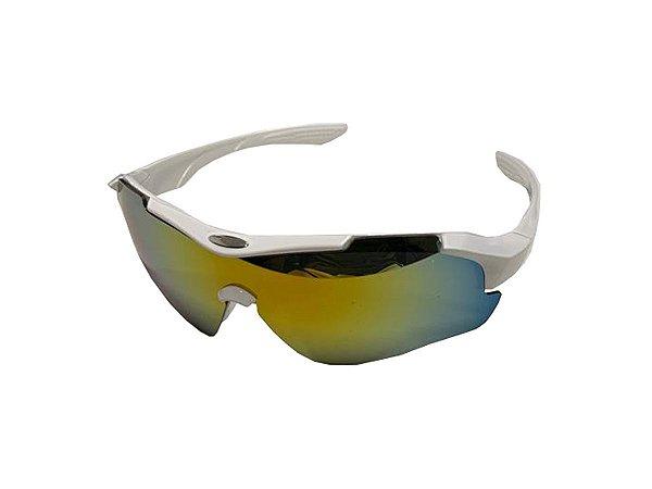 Óculos De Sol Para Ciclismo Rad7 Branco