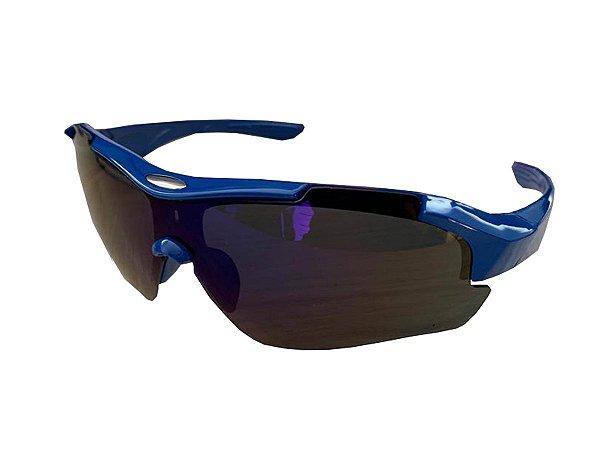 Óculos De Sol Para Ciclismo Rad7 Azul