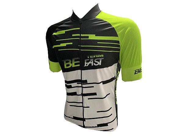 Camisa Ciclismo Zíper Total Be Fast BEN Mod 31