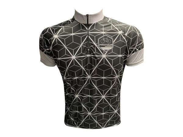 Camisa Ciclismo Masculina Pro Tour Arame Farpado Manga Curta