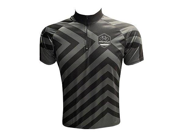 Camisa Ciclismo Masculina Pro Tour Listrado Mod 209
