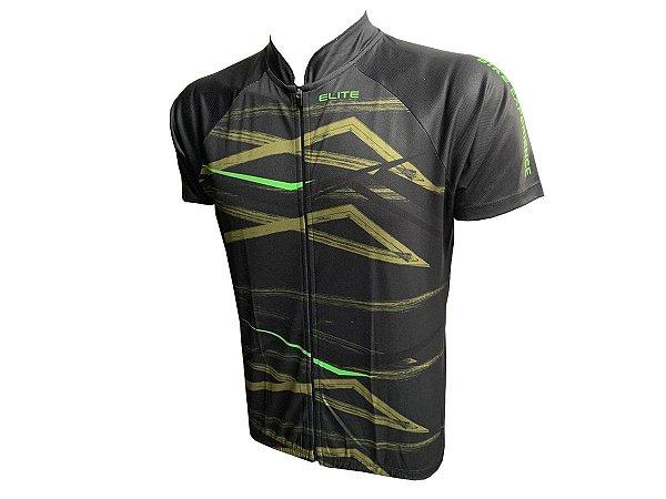 Camisa Ciclismo Masculina Elite Especial Preto
