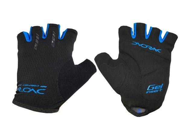 Luva Ciclismo Dvorak Antiderrapante Dedo Curto Azul