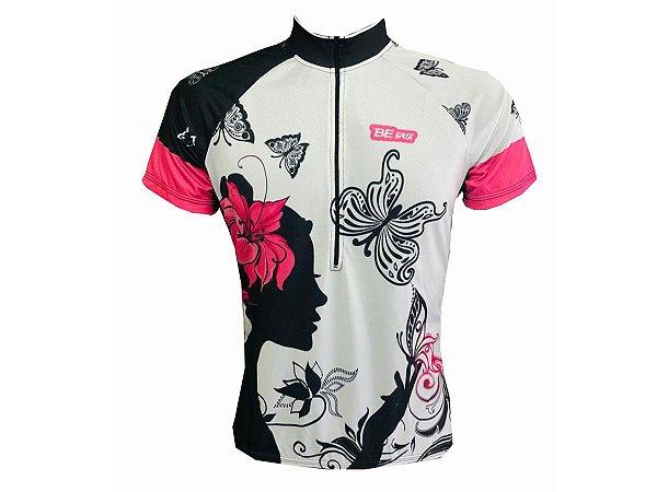 Camisa Ciclismo Mountain Bike Feminina Borboletas
