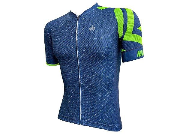 Camisa Ciclismo Mountain Bike Marelli Donna Geometrica
