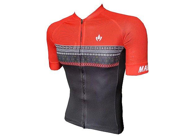 Camisa Ciclismo Mountain Bike Marelli Donna Grega