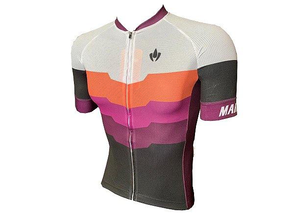 Camisa Ciclismo Mountain Bike Marelli Donna Barrada