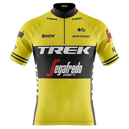 Camisa Ciclismo Mountain Bike Trek Amarela