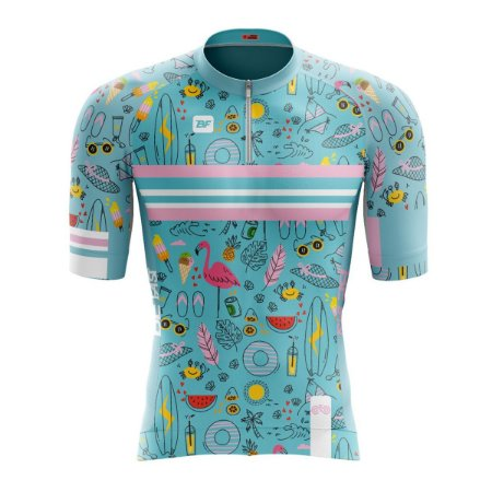 Camisa Ciclismo Mountain Bike Feminina Beach