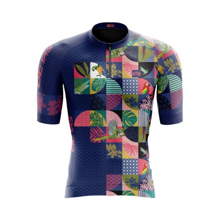 Camisa Ciclismo Mountain Bike Feminina Aves
