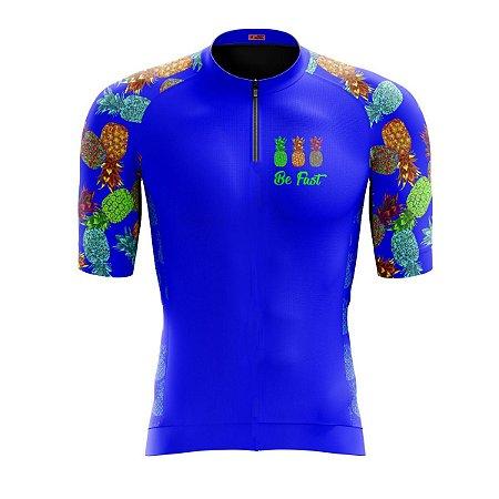 Camisa Ciclismo Mountain Bike Feminina Abacaxi
