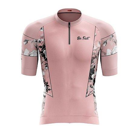 Camisa Ciclismo Mountain Bike Feminina Flores MOD 152