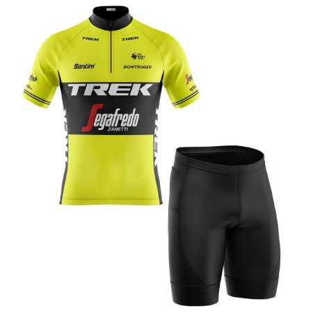 Conjunto Masculino Ciclismo Bermuda e Camisa Trek Segafredo