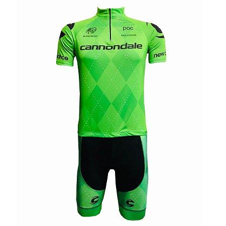 Conjunto Ciclismo Mountain Bike Cannondale Bermuda e Camisa