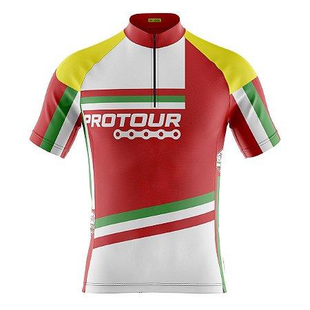 Camisa Ciclismo Mountain Bike Pro Tour Itália