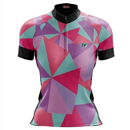 Camisa Ciclismo Mountain Bike Feminina Flops