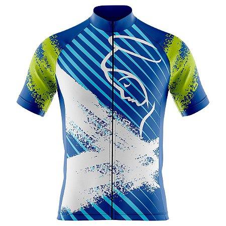 Camisa Ciclismo Mountain Bike Nossa Senhora Aparecida Zíper Abertura Total