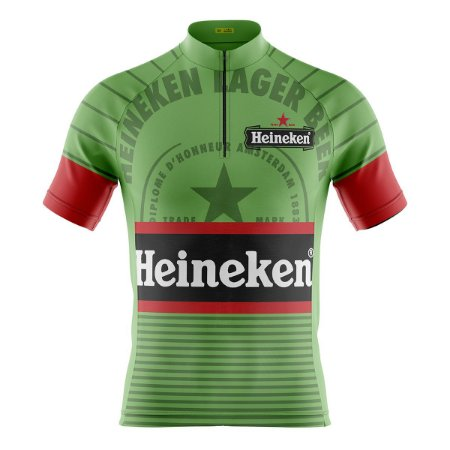 Camisa Ciclismo Mountain Bike Heineken