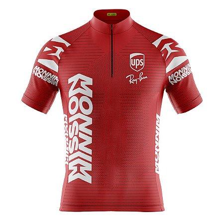 Camisa Ciclismo Mountain Bike Ferrari