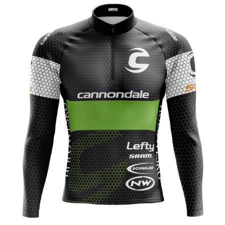 Camisa Ciclismo Mountain Bike Cannondale Colmeia