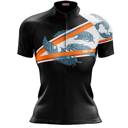 Camisa Ciclismo Mountain Bike Feminina Penas