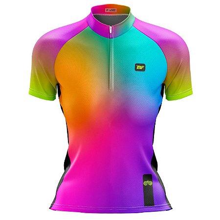Camisa Ciclismo Mountain Bike Feminina Prisma