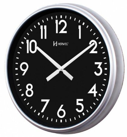 Relógio de parede herweg 6463 68cm diâmetro