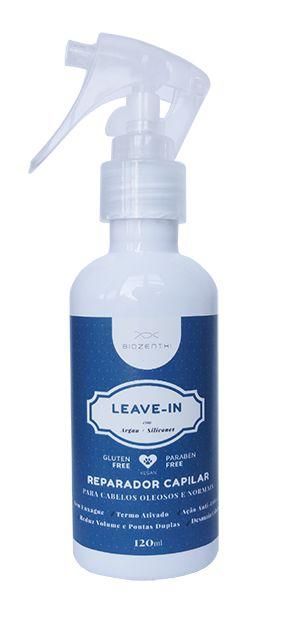 BIOZENTHI - Leave-in Reparador e Finalizador Capilar com Óleo de Argan 120ml - Natural - Vegano - Sem Glúten