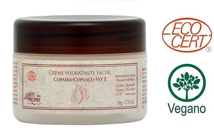 ARTE DOS AROMAS - Creme Hidratante Facial ECO 50g - Orgânico - Natural - Vegano