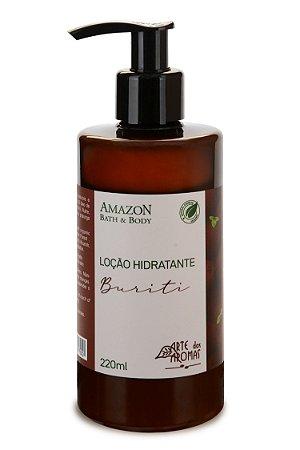 ARTE DOS AROMAS - Loção Hidratante Corporal de Buriti 220ml - Vegano - Natural