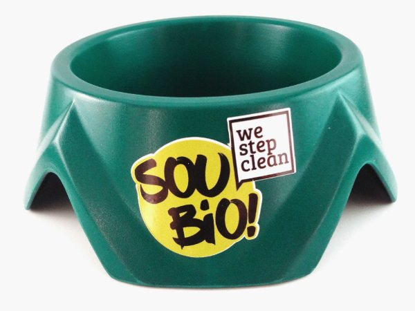WE STEP CLEAN - Bowl Pequeno 500ml - Verde - Biodegradável - Resina de Momona