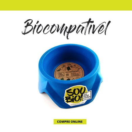 WE STEP CLEAN - Bowl Pequeno 500ml - Azul - Biodegradável - Resina de Momona