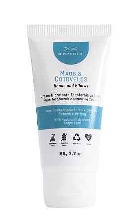 BIOZENTHI - Creme Hidratante Para Mãos e Cotovelos 60g - Natural - Vegano - Sem Glúten