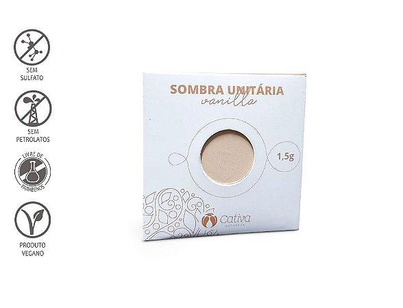 CATIVA NATUREZA - Sombra Refil VANILLA 1,5g - Orgânica - Natural - Vegana
