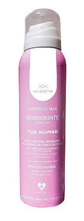 BIOZENTHI - Desodorante AEROSSOL MAX FOR WOMAN 150ml - Natural - Vegano