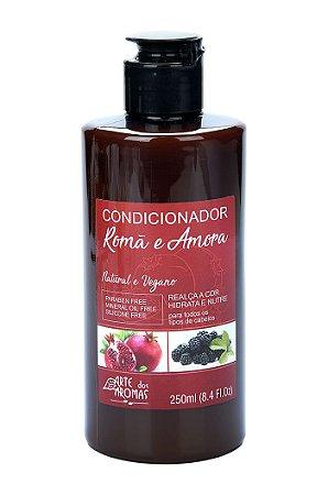 ARTE DOS AROMAS - Condicionador Romã e Amora 250ml - Natural - Vegano