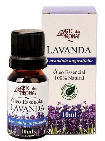 ARTE DOS AROMAS - Óleo Essencial Lavanda - 10ml - 100% Natural