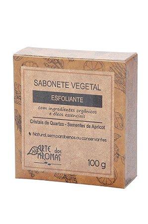 ARTE DOS AROMAS - Sabonete Esfoliante Em Barra Cristais de Quartzo 100g - Natural - Vegano