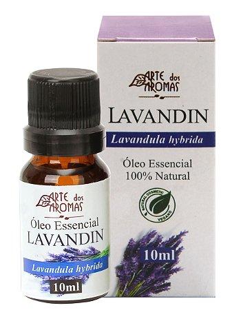 ARTE DOS AROMAS - Óleo Essencial Lavandin - 10ml - 100% Natural