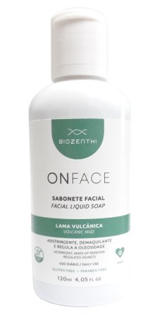 BIOZENTHI - ONFACE Sabonete Adstringente Lama Vulcânica - Natural - Vegano - Sem Glúten