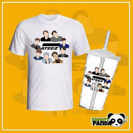 Kit ATINY - Copo e camiseta Ateez