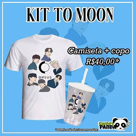 Kit To Moon - Copo e camiseta ONEUS
