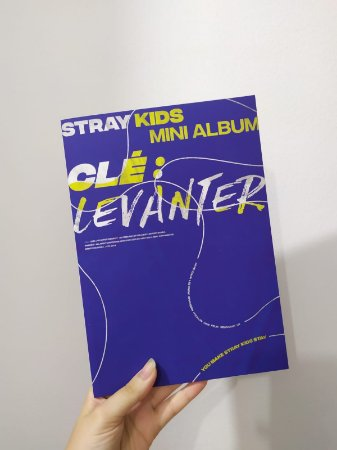 Straykids - Clé: Levanter ( Levanter Ver.) AUTOGRAFADA pelo Changbin