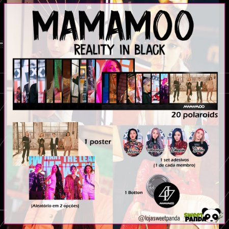 Kit MAMAMOO Reality in Black