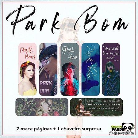 Kit marca páginas Park Bom + chaveiro surpresa