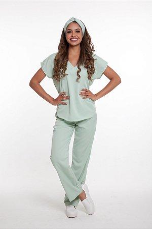 Pijama Cirúrgico Monise Verde Sálvia