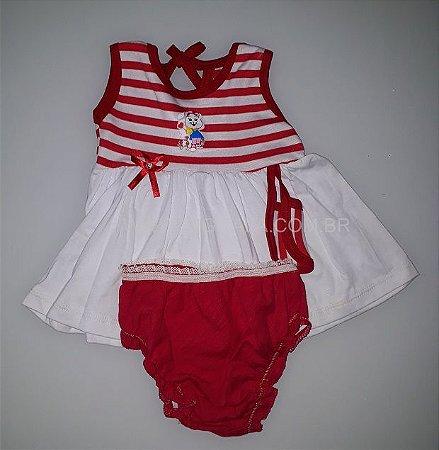 Vestidos Infantis com Calcinha