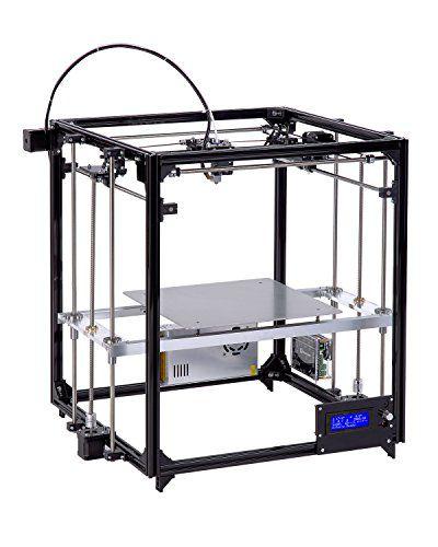 Impressora 3D FLsun Touch Screen Nivelamento Automático Duplo Extrusor